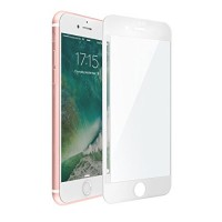 Folie protectie ecran sticla 3D Apple iphone 7 Alba